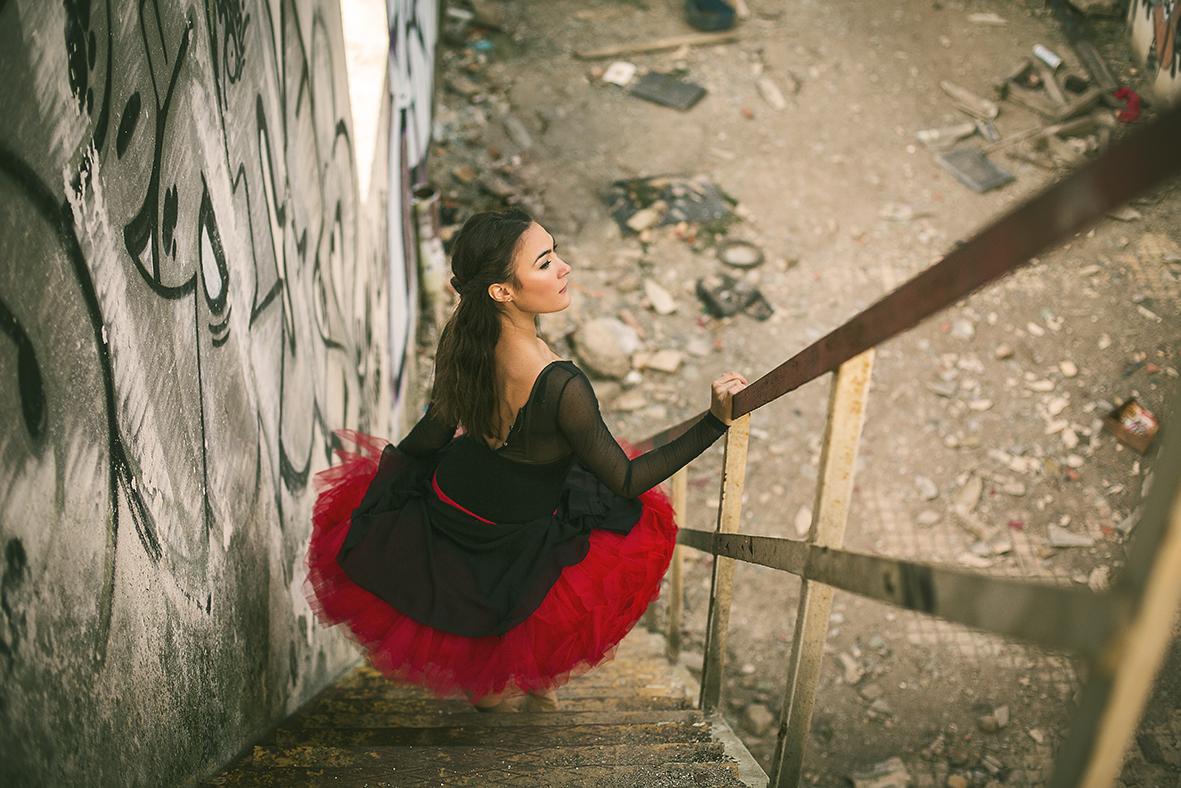 tuú rojo bailarina